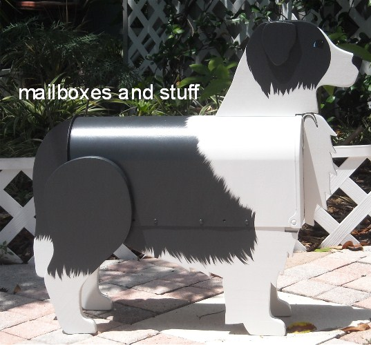 Border Collie Mailbox