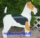 Wire Fox Terrier Mailbox
