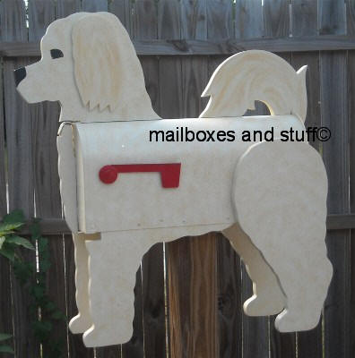 Goldendoodle Mailbox