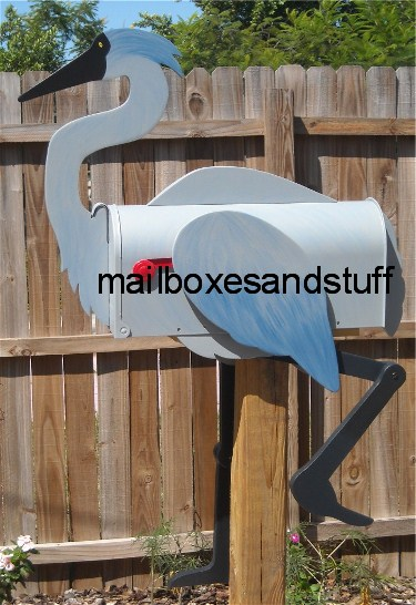Great Blue Heron Mailbox
