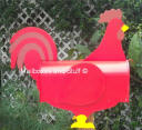 Red Rooster Mailbox copyright Mailboxes and Stuff NOVELTY MAILBOXES
