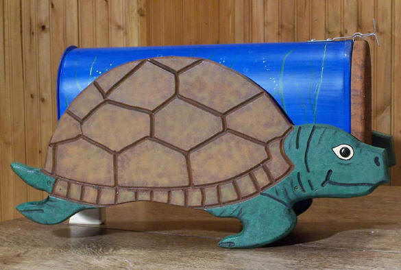 Woodendipity Turtle Mailbox