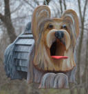 Dog planters, dog mailboxes, dog bird feeders,