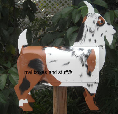 Goat Mailbox By Mailboxes And Stuff
