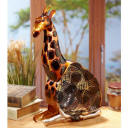 Macaw Shaped Fan, fans shaped like aniamls, zebra fan, bear fan, giraffe fan, frog, eagle, flamingo, bear, panda, hummingbird, dog fan, cat shaped fan, tropical fish, elephant fan, zebra fan, moose fan,