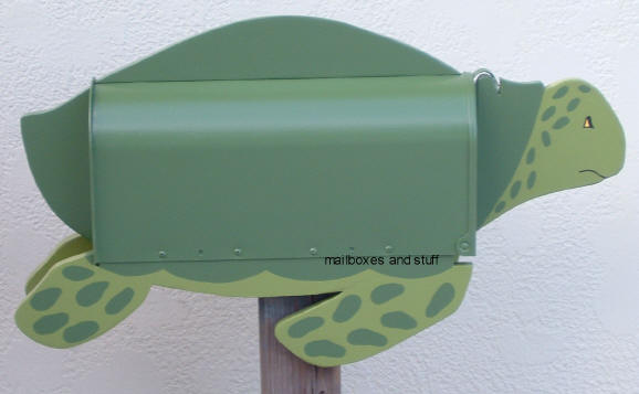 Tropical Bird Mailboxes And Sea Animal Mailboxes