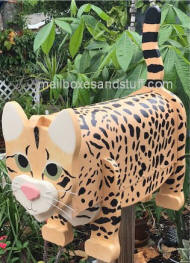 Savannah Cat Mailbox
