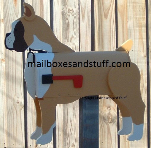 Boxer Mailbox cropped ear