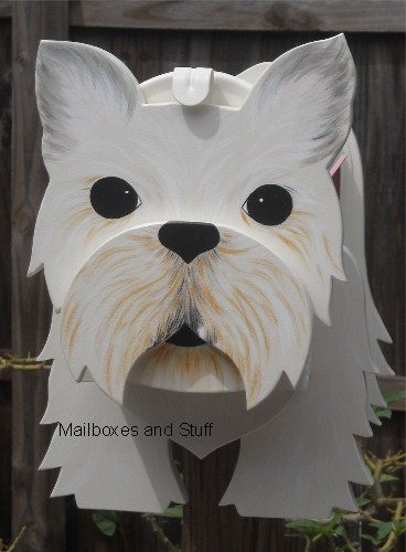 Brussels Griffon mailbox , dog mailboxes