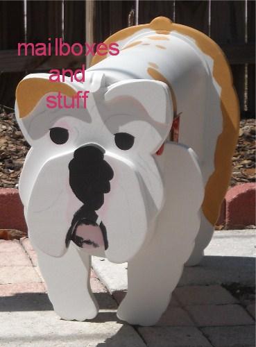 Bulldog Mailbox By Mailboxes And Stuff