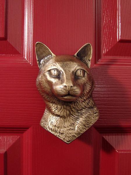Dog Head Door Knockers
