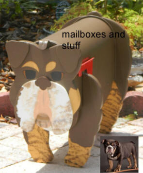 Bulldog Mailbox By Mailboxes And Stuff