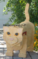 Izak Short Hair Cat Mailbox