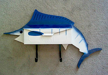 Marlin Wall mount mailbox