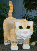 Orange Tabby Cat Mailbox