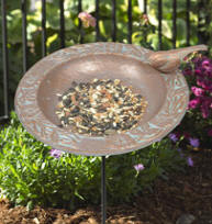 Chickadee Garden Bird Feeder