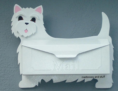 West Highland Terrier Mailbox