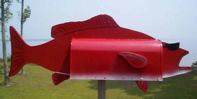 Red Grouper Mailbox
